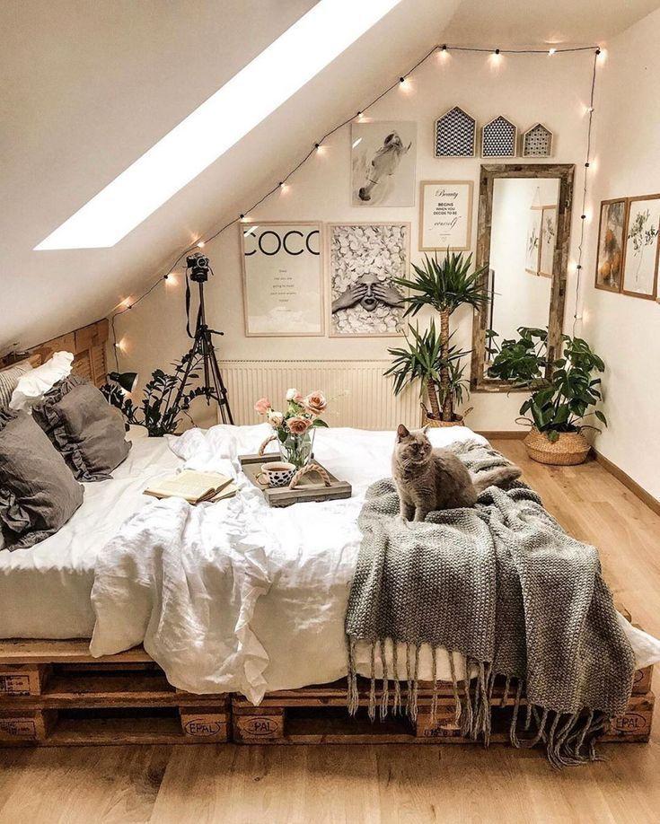 Idées de style bohème pour la décoration de la chambre #diyhomedecor
