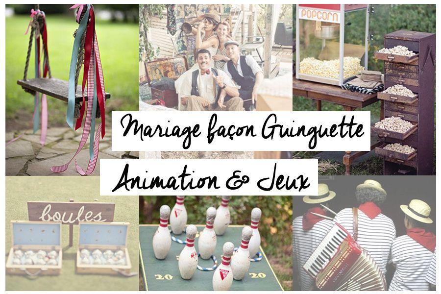 animation mariage guinguette