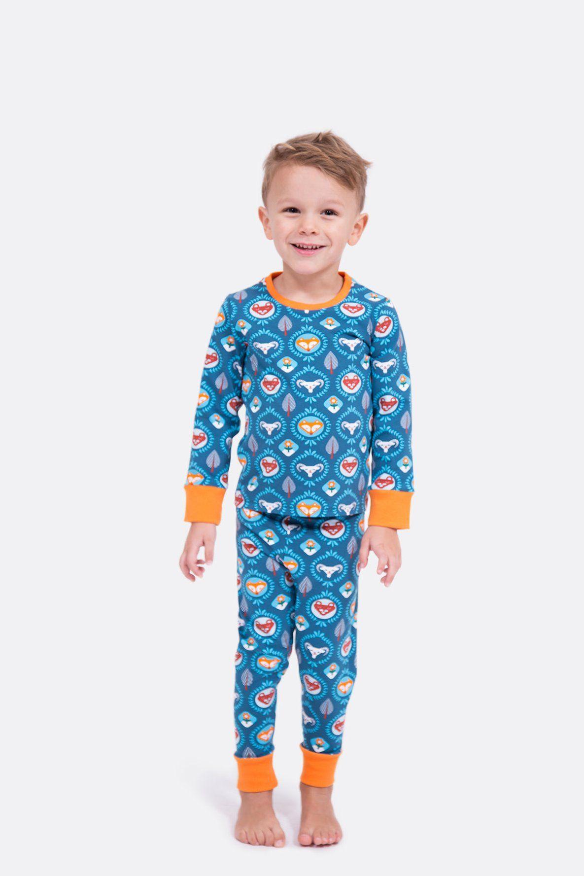 Schnittmuster Schlafanzug Milo | Schlafanzug für kinder