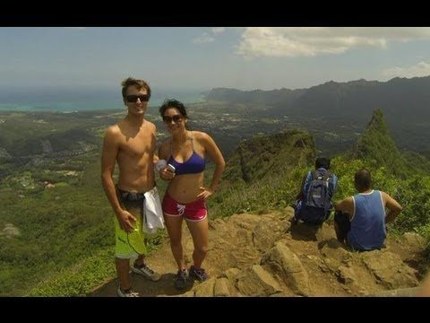 Olomana Hiking Trail Hawaii - Three Peaks - http://live.discoverhawaiinetwork.com/activities/hiking/olomana-hiking-trail-hawaii-three-peaks/