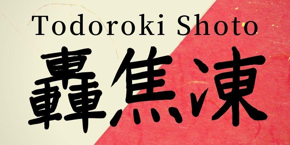 Todoroki Shoto Name In Japanese Kanji And Meaning My Hero Academia In 2021 Japanese Names My Hero Academia Japanese Kanji