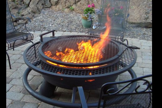 Fire Pits Smokers And Camper Grills Fire Pit Fire Pit Grill Fire Pit Kit