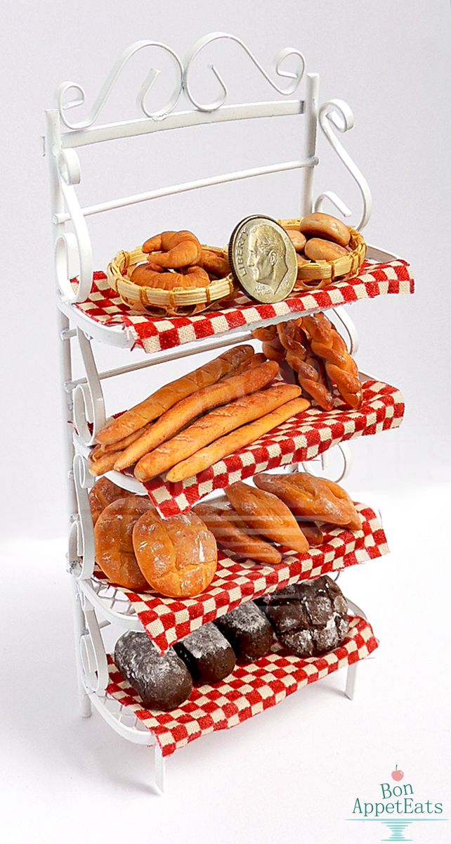 1 12 Bakers Rack with Bread by PepperTreeArt on DeviantArt