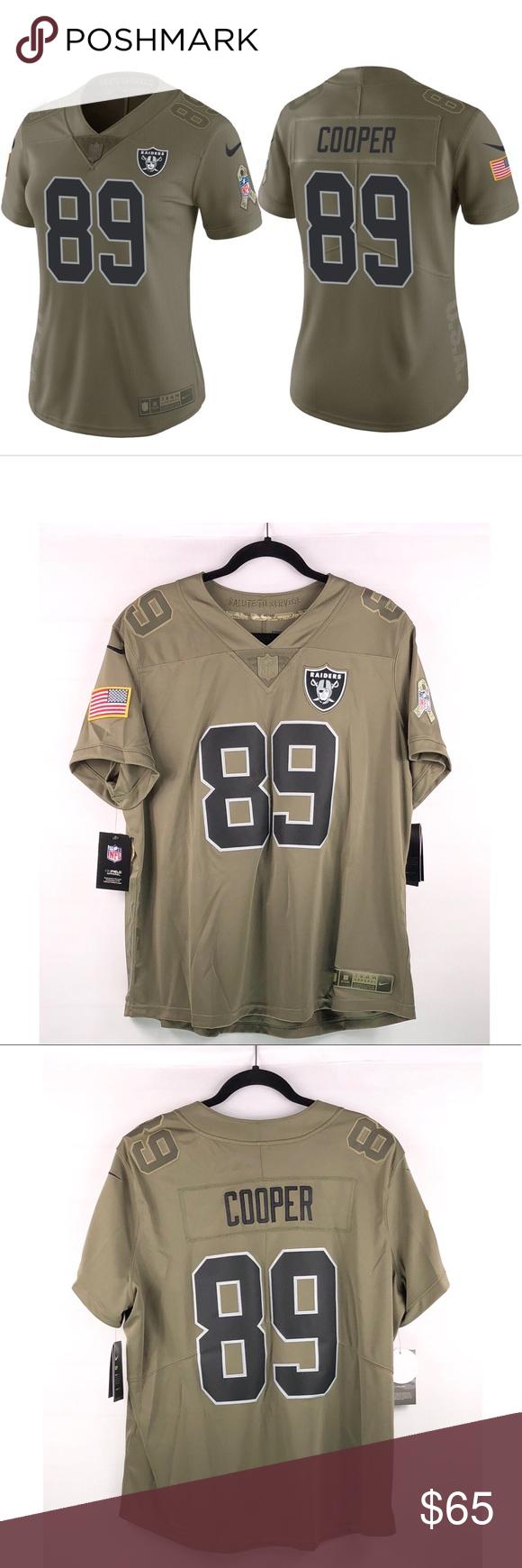 Nike NFL Raiders Jersey Amari Cooper  89 NWT en 2018  9f337f225