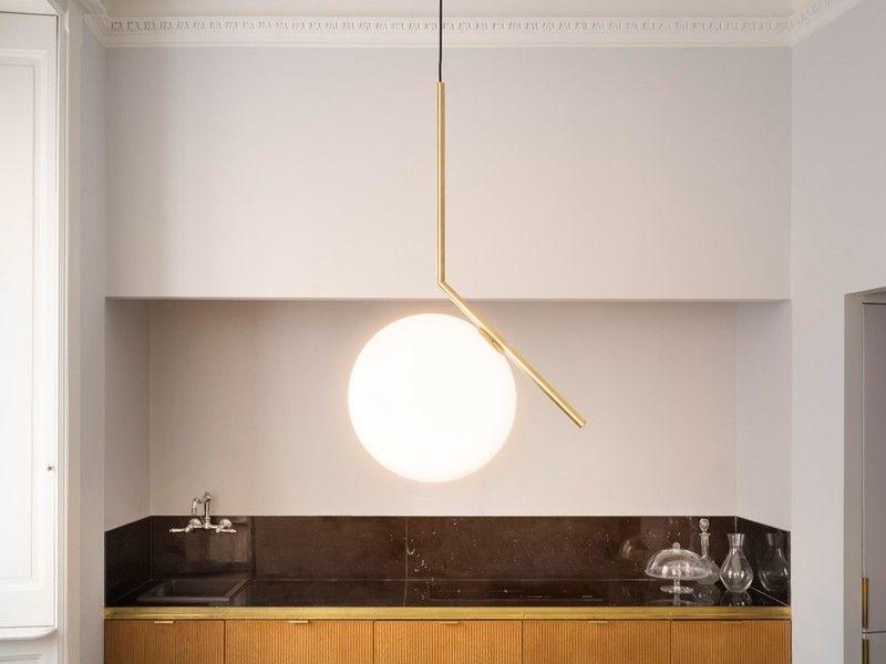 Flos ic s suspension light lighting lighting pendant lamp