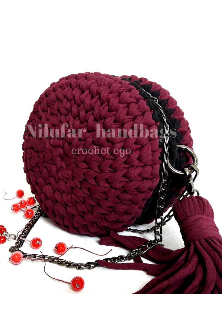f3c7fd259a59 Вязаная сумка из трикотажной пряжи, макаруны | Nilufar_handbags ...