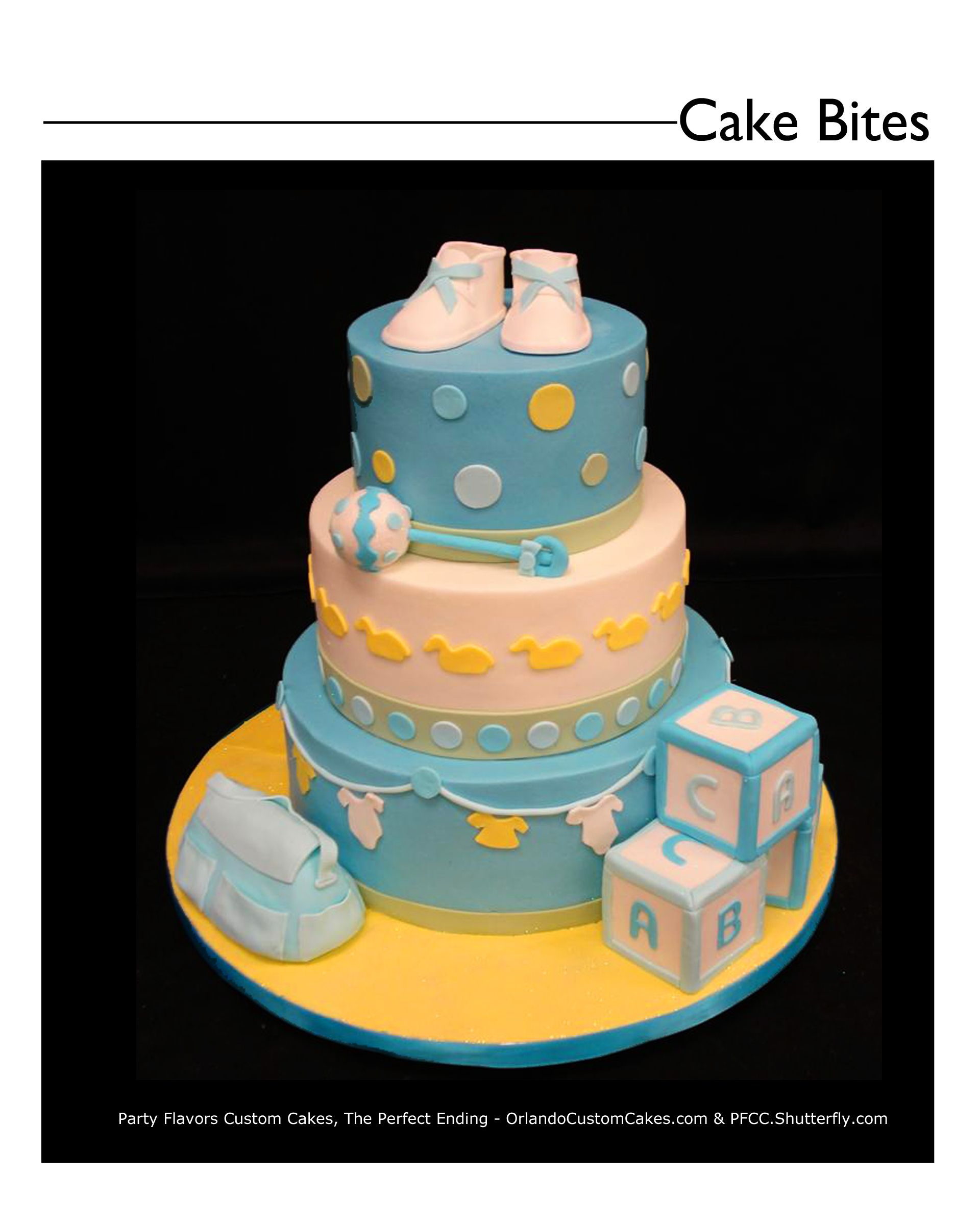 Here comes the Baby! Don\u0027t forget your shower cake! Custom