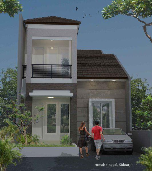 D 47 Sidoarjo Desain Rumah Minimalis Desain Rumah Bungalow Arsitektur