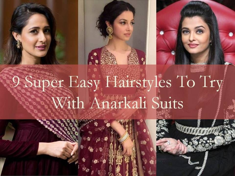 9 Super Easy Anarkali Hairstyles With Step By Step Tutorial Videos Keep Me Stylish In 2020 Hairstyle With Suit Hair Styles Diy Hairstyles Easy