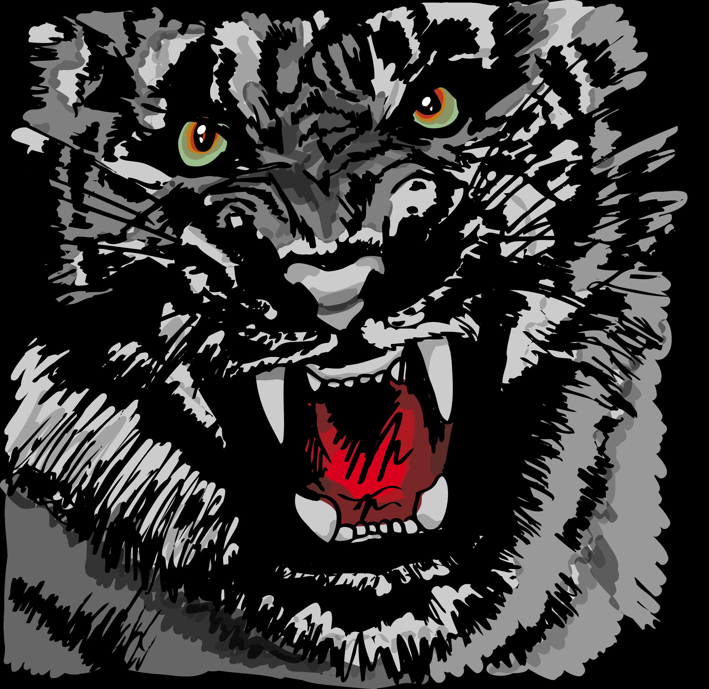 t shirt design. tiger, animals, lion