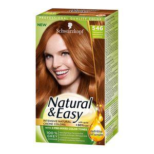 Schwarzkopf Natural   Easy 546 Copper Blonde Hair Color  8ee4875d75
