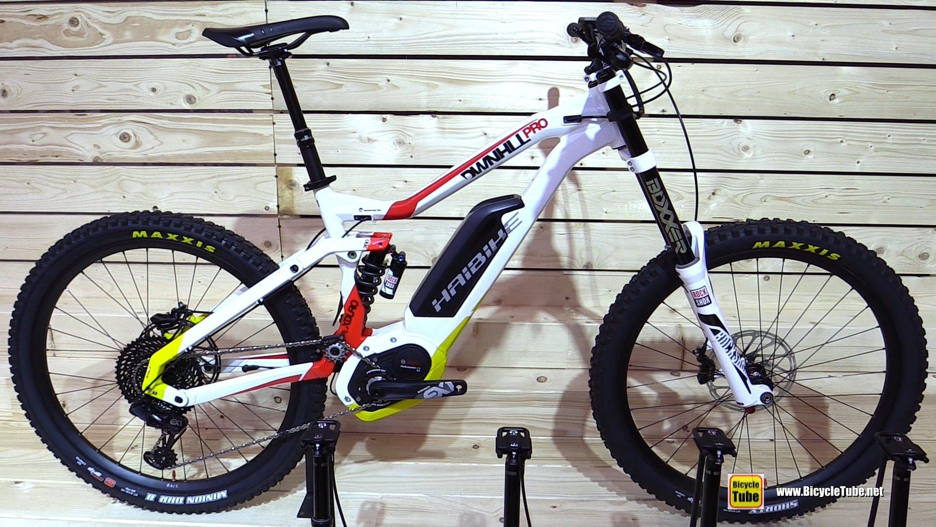 8fc0a649e03603 2017 Haibike xDuro Downhill Pro Electric Mountain Bike - Walkaround - 20.