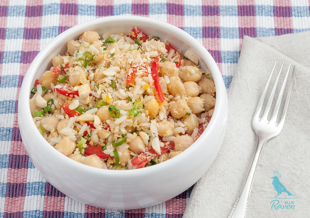 Superfoods salad #vegan #gluten-free