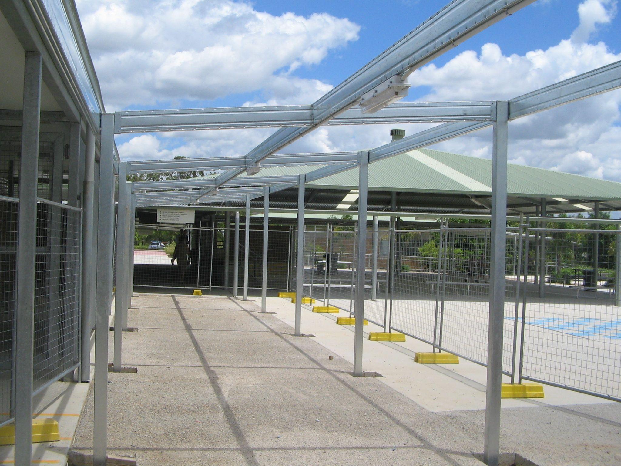 Spantec Steel Framing System-Boxspan Beams used on this walkway ...