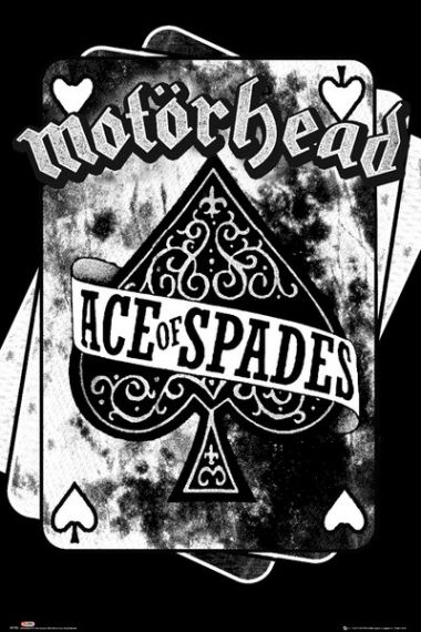Motorhead Ace Of Spades Plakat Plakaty Muzyczne Music