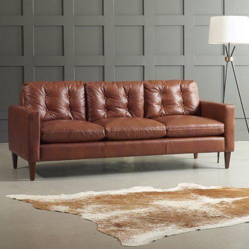 Surprising Wayfair Leather Sofa Baci Living Room Machost Co Dining Chair Design Ideas Machostcouk
