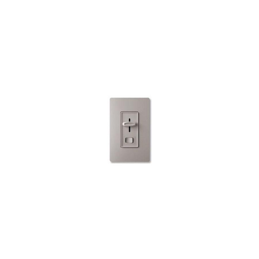 Lutron Skylark 1 5-Amp Single Pole Gray Indoor Combination Dimmer