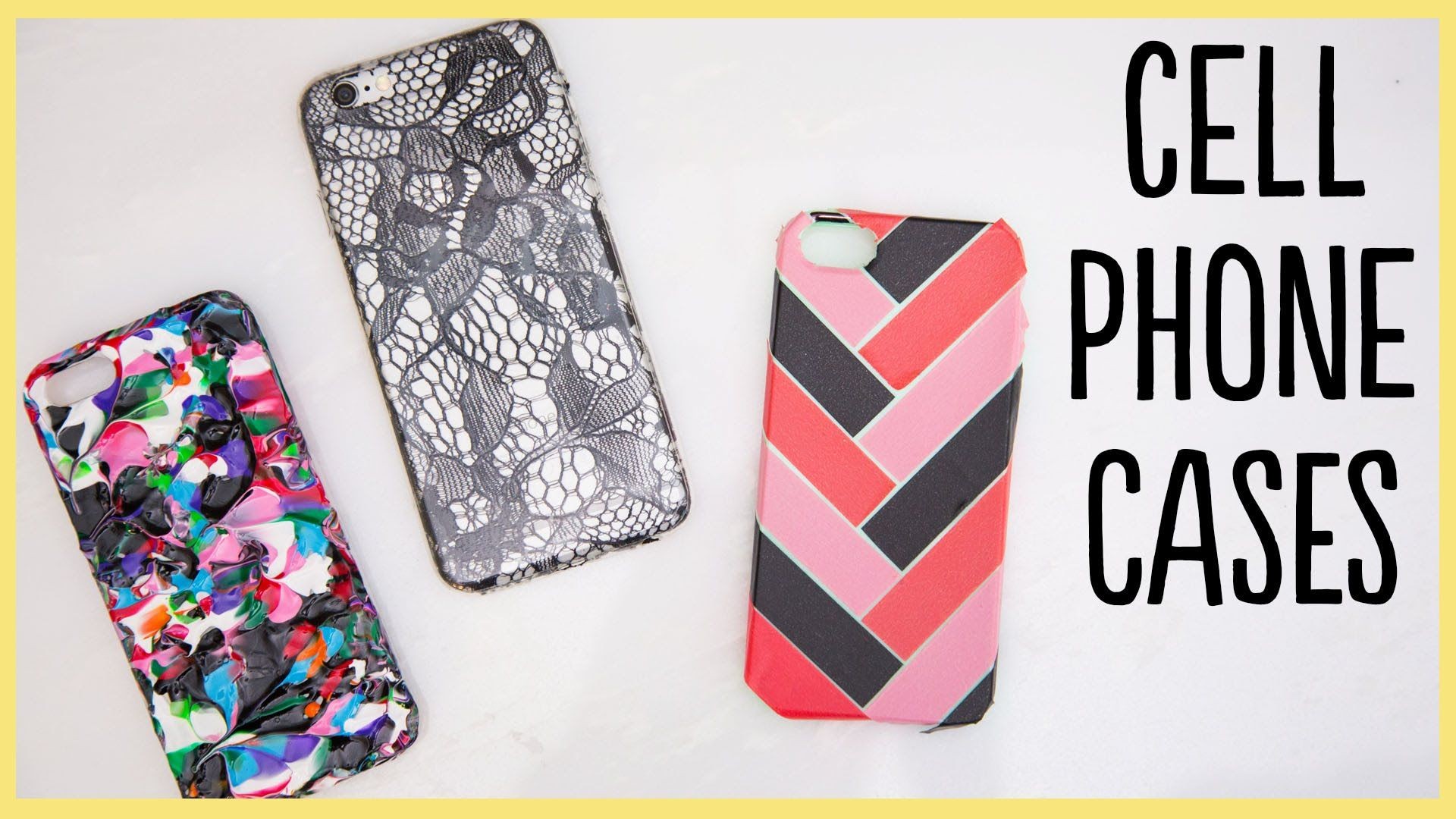 Diy cell phone cases cute and easy cell phone