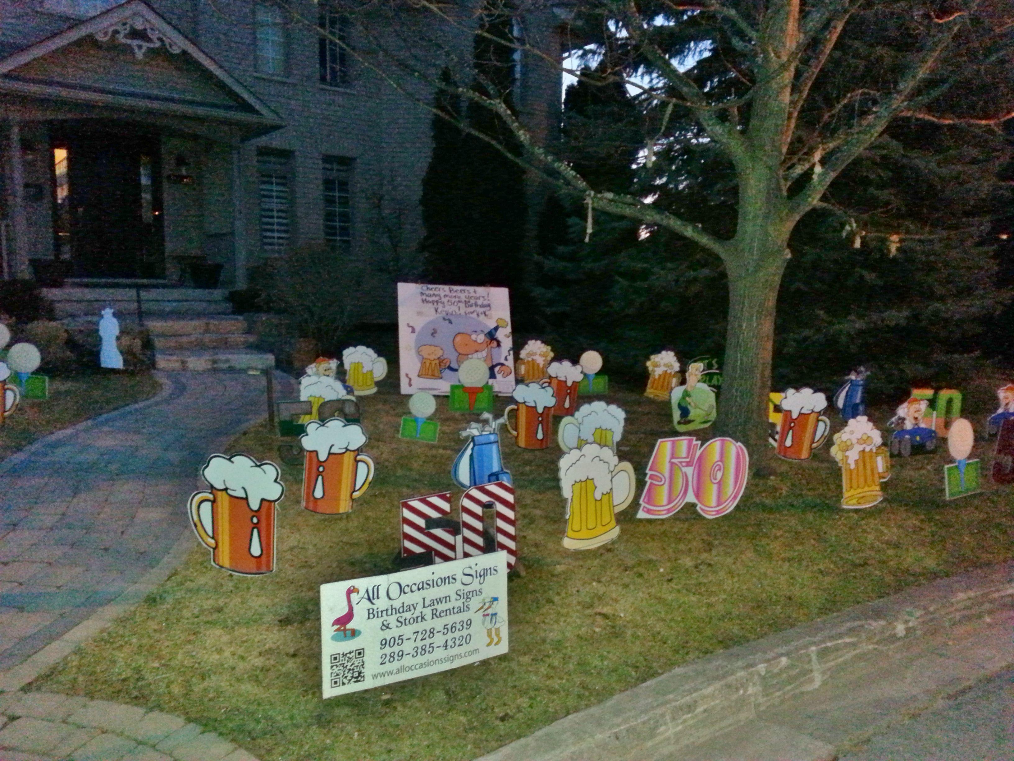 11+ Birthday Ideas  birthday, birthday lawn signs, lawn sign