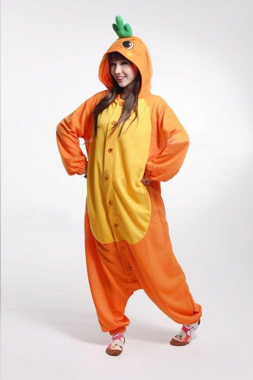 Funny Carrot Kigurumi Onesie My Dream Closet Animal Pajamas