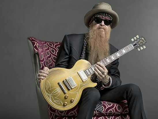 Billy Gibbons of ZZ Top.  Can't get much cooler than this 🎸