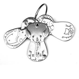 Kleynimals Stainless Steel Keys Baby Toy