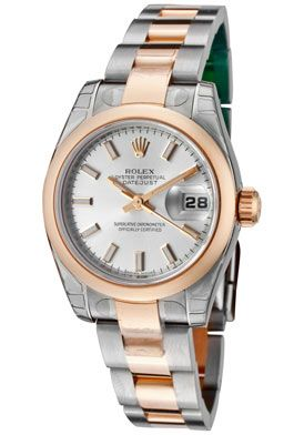 b0d839ef63a Rolex  Women s Datejust Automatic Silver Dial Oyster Watch Relógio De  Diamante Rolex