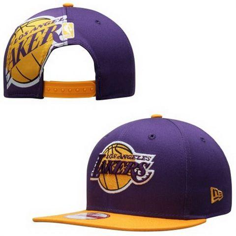 Cheap NBA Los Angeles Lakers New Era Snapback Hats PurPle 420 ... 0b496a5912a