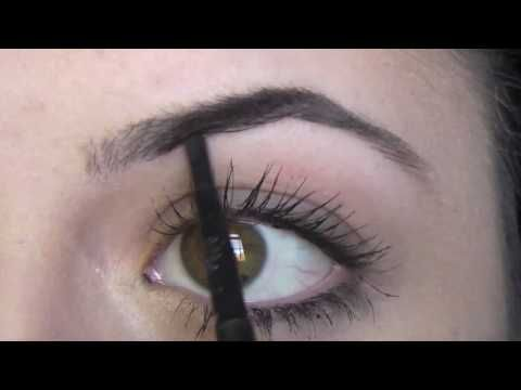 Tutorial: Shaping & Filling in your Eyebrows #perfecteyebrows