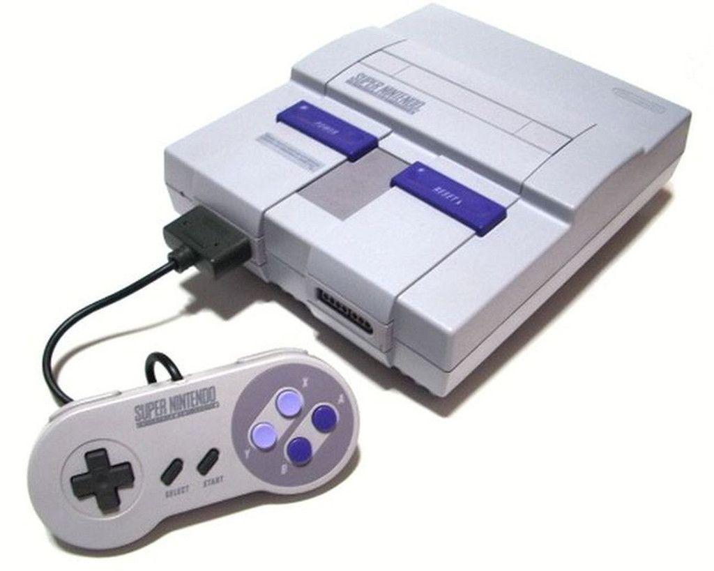 Official Original Super Nintendo Console System SNS-001