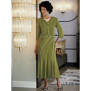 Alena Jacket Dress from ASHRO | PI718082