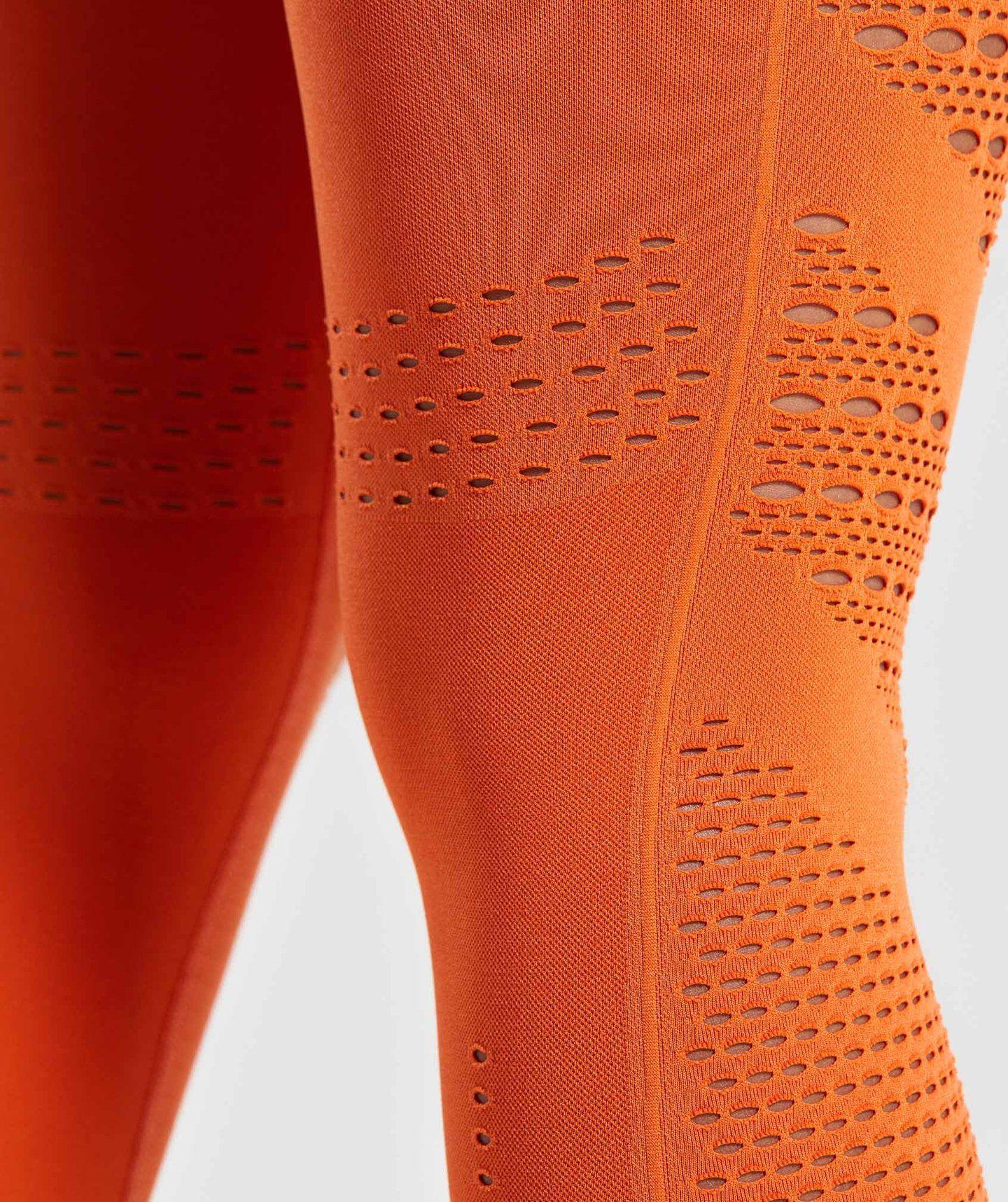 83d404f43f4cc Gymshark Flawless Knit Tights - Burnt Orange in 2019 | Fitness ...