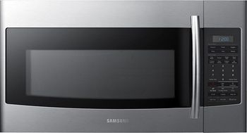 Samsung - 1.8 Cu. Ft. Over-the-Range Microwave - Stainless-Steel