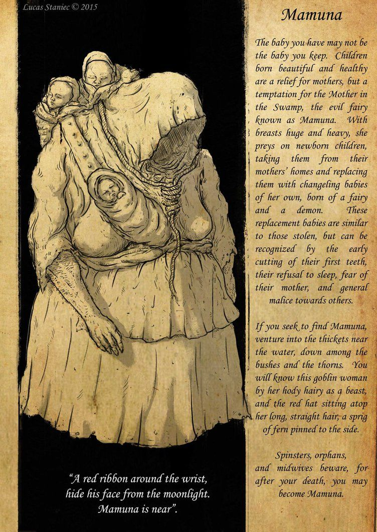 mamuna beast slavic slavic mythology slavic folklore concept