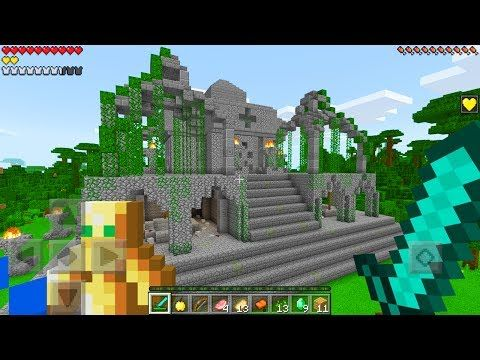 MCPE INCREDIBE NEW SEED! (Insane Jungle Village) | Minecraft Pocket