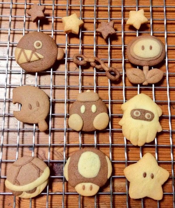 Play With Your Food: Spectacular Nintendo-Themed Desserts
