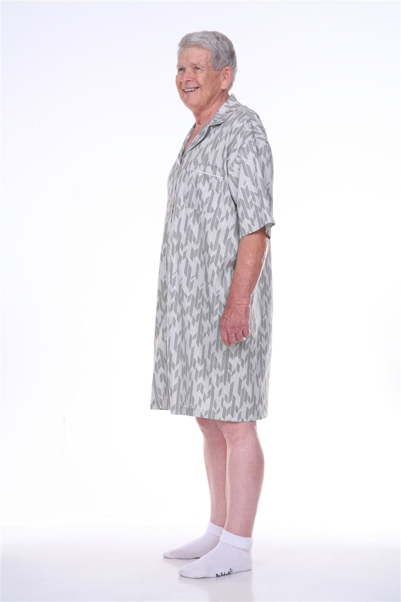 Dignity pajamas offers Mens short sleeve hospice pajamas and sleepwear in  adaptive sleepwear styles.These100% cotton hospice pajamas feature fully open  back ... 44579106c