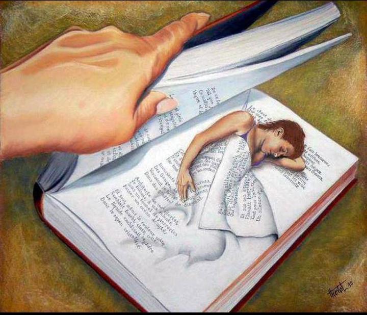 Hora de dormir nos livros!