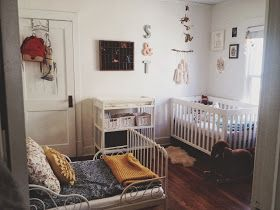 it's the little things: snippets // a shared nursery