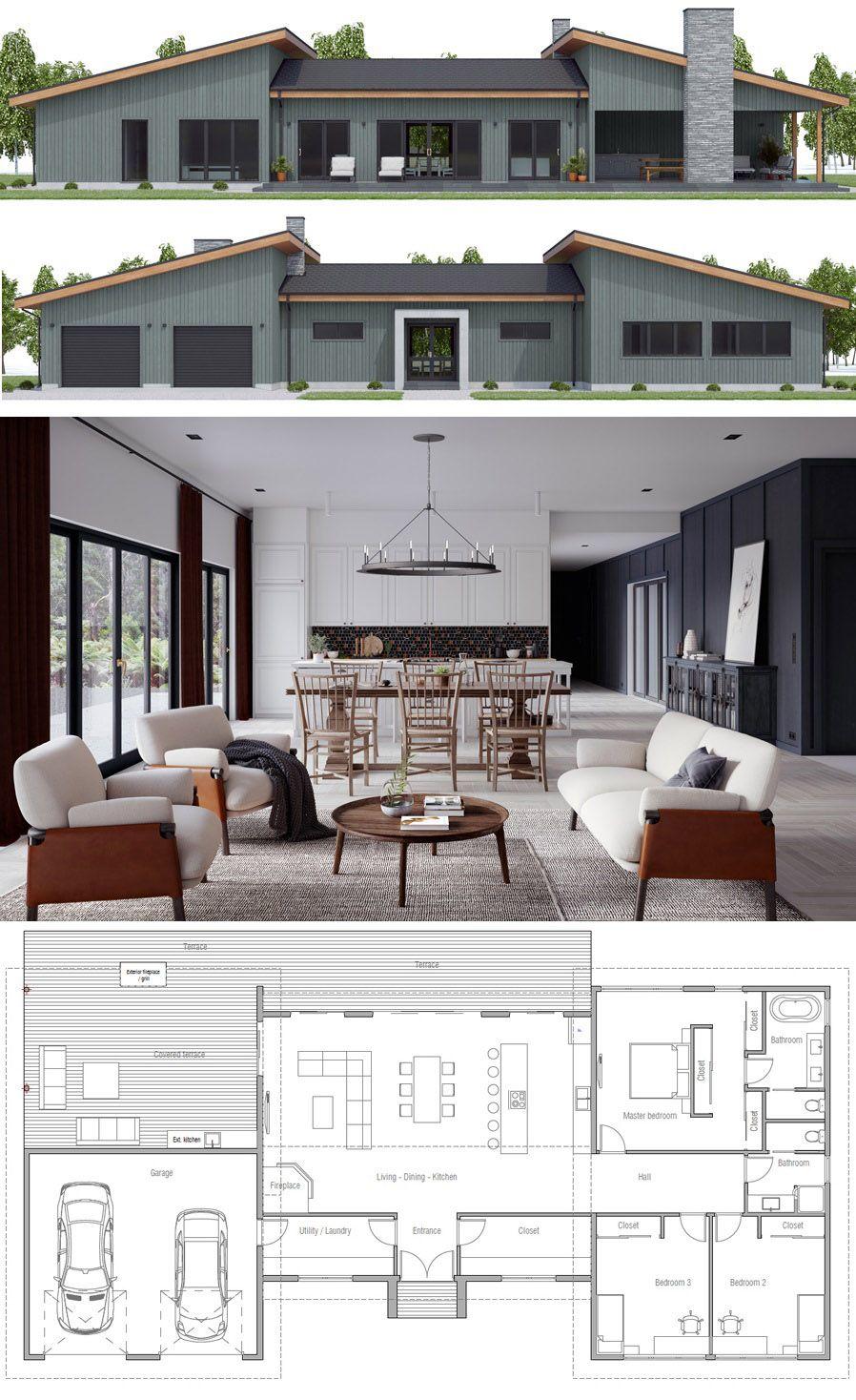 House designs new home plans floor architecture interior homeplans houseplans floorplans adhouseplans also rh pinterest