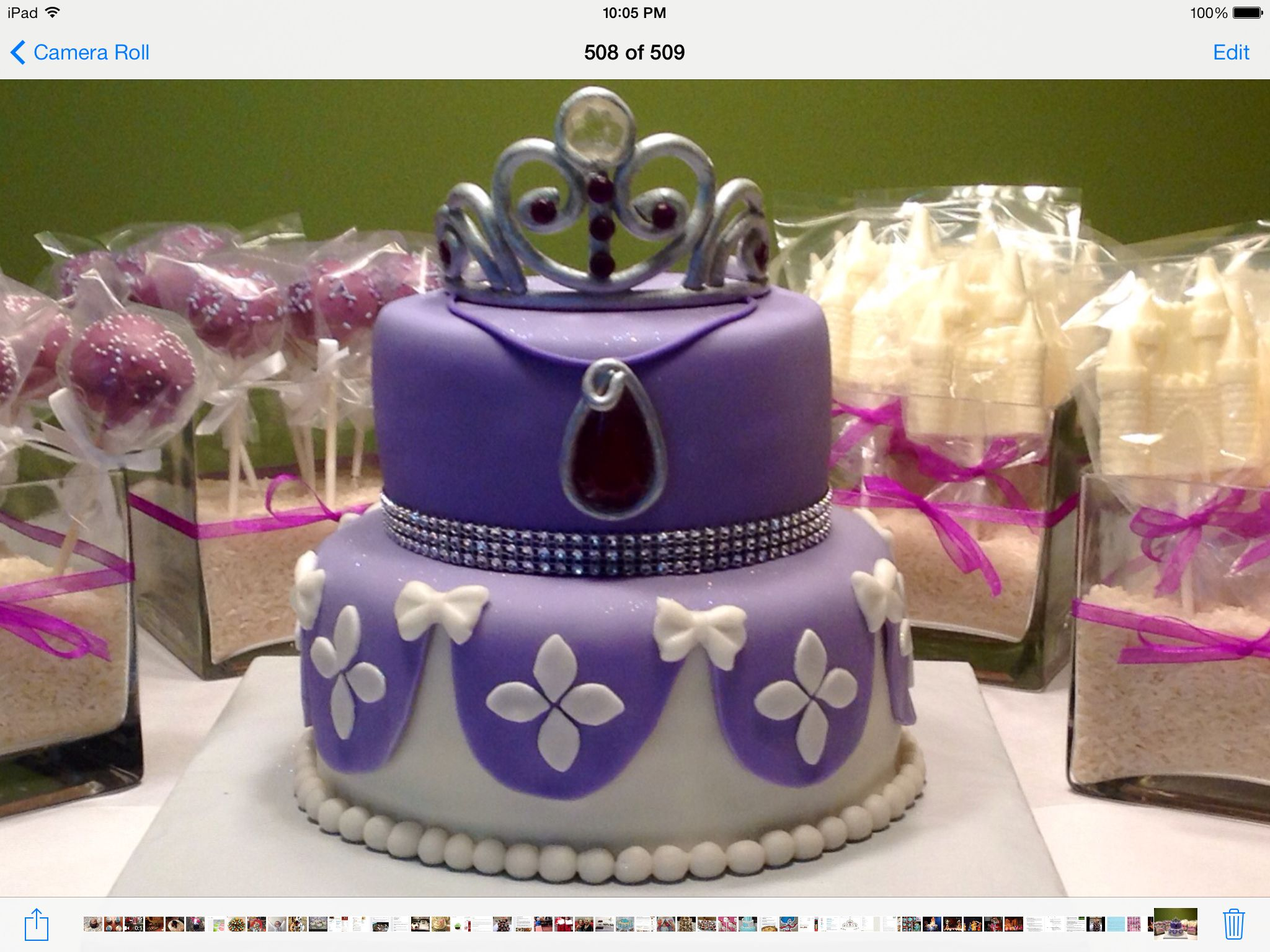 Princess Sofia Cake. Cakes Pinterest Princess sofia ...