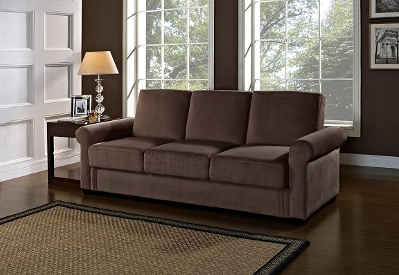 American Signature Furniture Thomas Upholstery Collection Futon