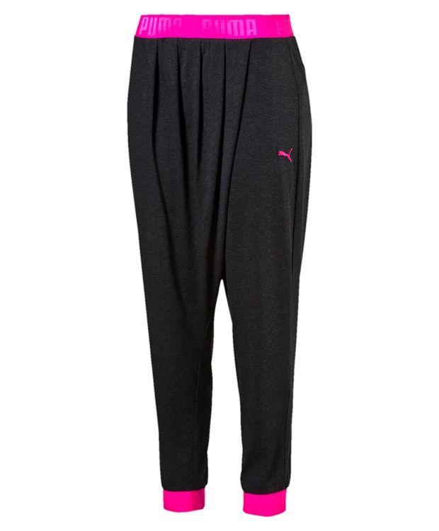 Puma Transition bukse Loosefit bukse i 65% polyester og 35% bomull. En herlig fritids eller treningsbukse med behagelig elastikk i linning og i nedkant. #sportmann #puma