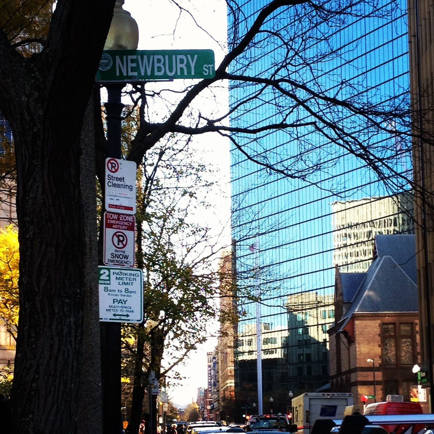 Newbury Street Is A Por Downtown Boston Destination Filled With Restaurants And S Photo Credit