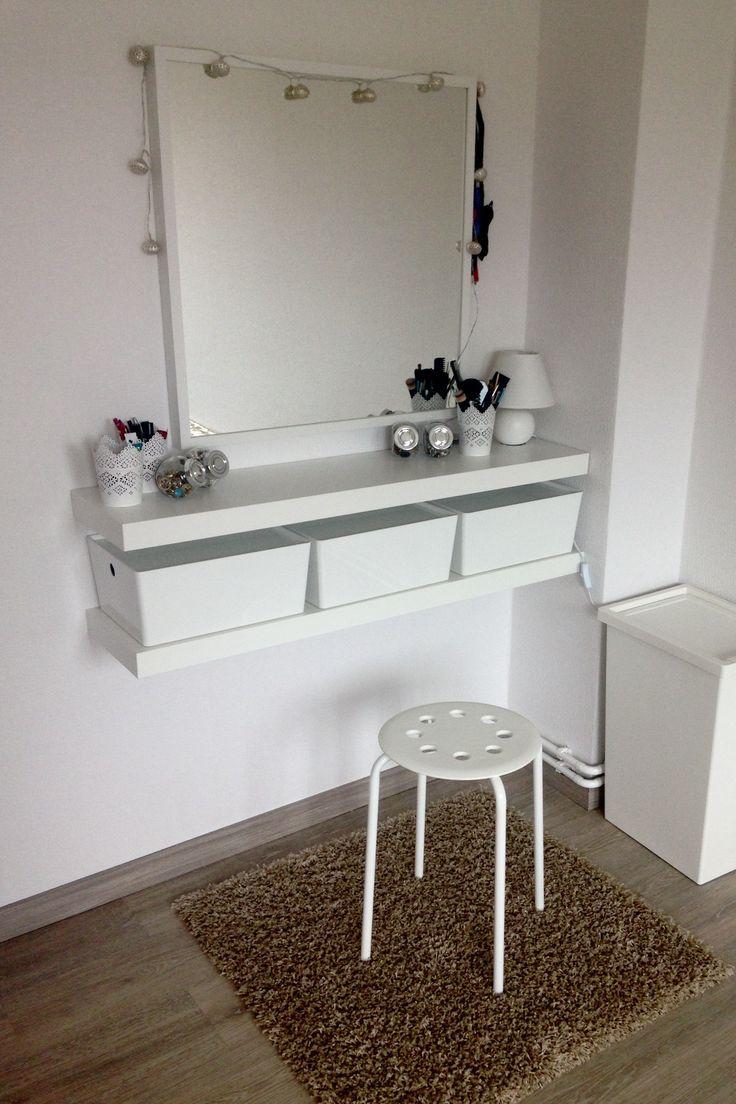 DIY Schminkecke / Frisierkommode / Schminke, Wohnen, Wohnkultur - Wohnung einrichten #kitchenorganizationdiy