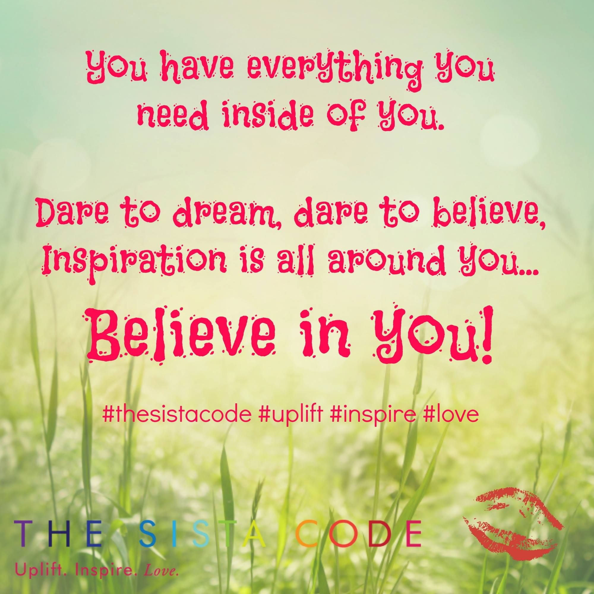 Have an awesome day sistas! #thesistacode #uplift #inspire @thesistacode @melissahiston
