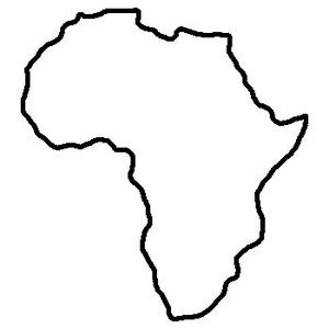 My Is In South Africa Giraffe Spot Africa Outline South Africa Map Africa Map