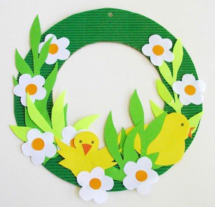 wreath  Easter  Pinterest  공예, 공부 및 눈사람