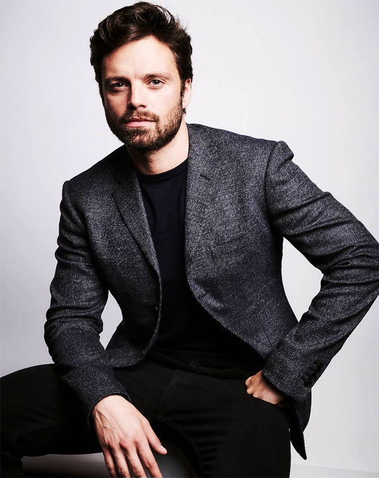 Sebastian Stan Portrait By Michael Buckner For Deadline S The Contenders 2017 Sebastian Stan Bucky Barnes Stans