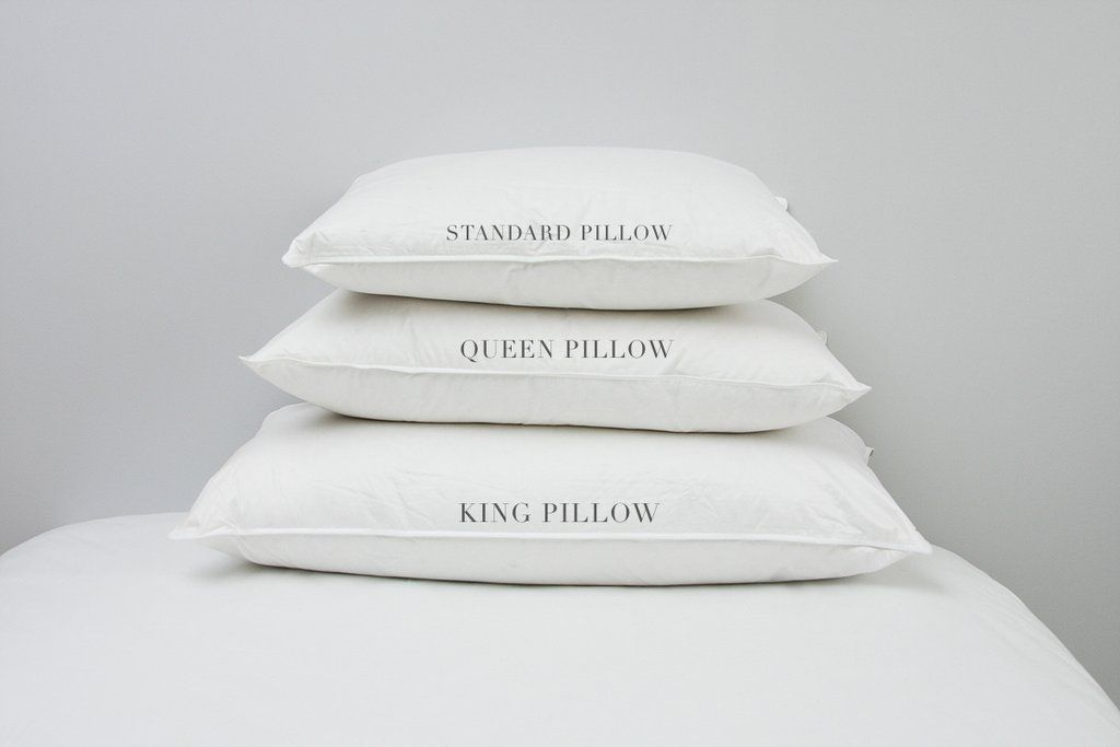 Standard Pillow Dimensions
